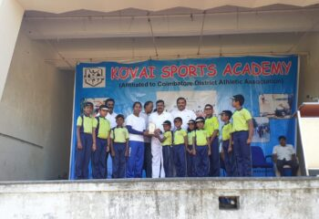 WON 1ST PLACE IN MARCH PAST @KOVAI KIDS ACADEMY , CIT